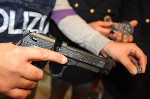 polizia-poligono-nettuno-latina-pistola-37652278652