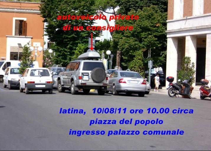 comune-latina-auto-consigliere-parcheggio-489622
