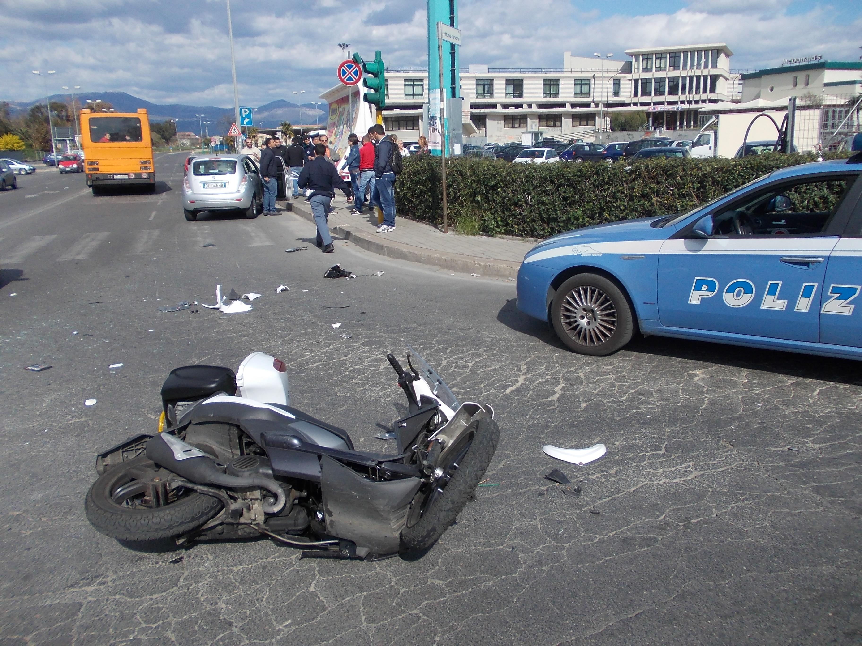 incidente via romagnoli