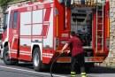 Cori, incendio in via Matteotti: distrutto bus Cotral