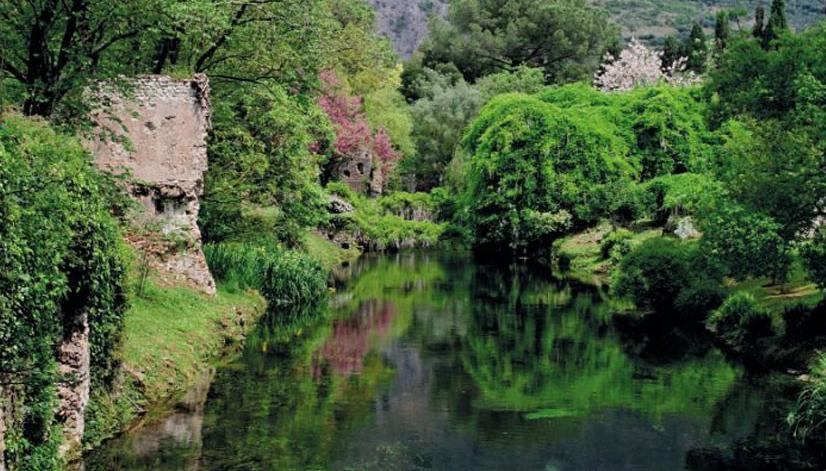 Ninfa tra i dieci giardini pi belli del mondo latina - Il giardino di ninfa ...