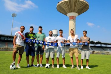 Calcio, ecco i sette acquisti del Latina