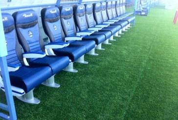 Fotogallery/Stadio Francioni quasi pronto per il debutto in serie B