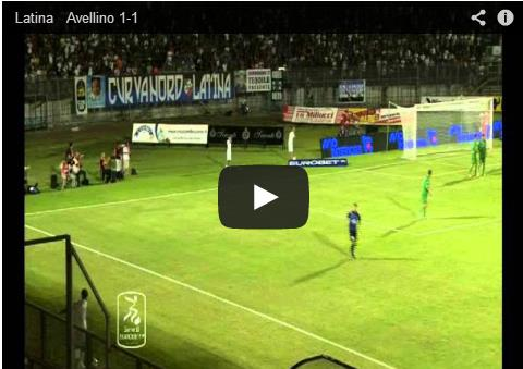 calcio-latina-avellino-video