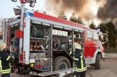 Incendio distrugge un centro sportivo a Priverno
