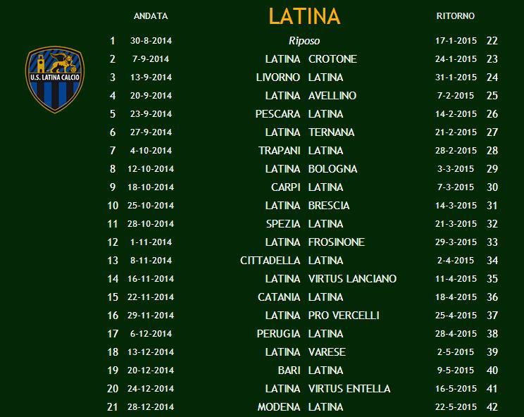 calendario-latina-calcio-2014-2015