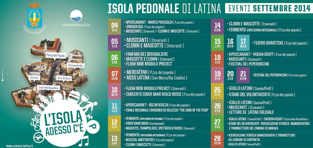 isola-pedonale-latina-eventi-settembre2014