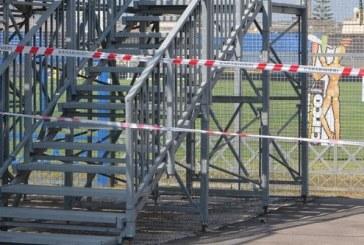 Stadio Francioni, dissequestrate le tribune per gli ospiti