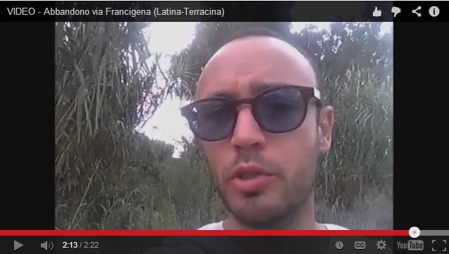 video-degrado-via-francigena-latina24ore