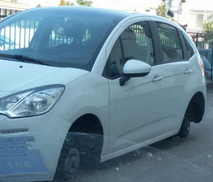 auto-furto-ruote-latina