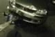 Incidente in via dell'Agora, auto taglia la rotonda