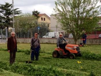 Latina Scalo - Pro Loco - al taglio dell'erba