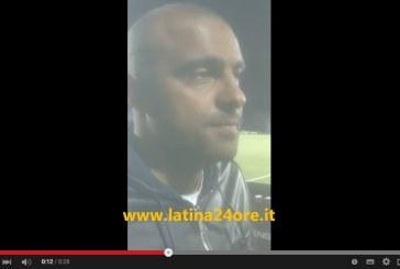 VIDEO/Calcio, Latina resta in B: il commento di Maietta