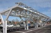 Cisterna, apre il parcheggio fotovoltaico per caricare le auto elettriche