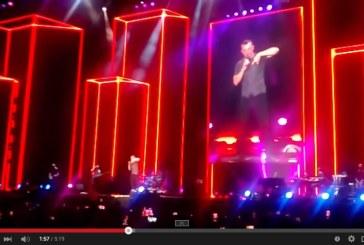 VIDEO Tiziano Ferro dedica a Latina un brano nel concerto all'Olimpico di Roma