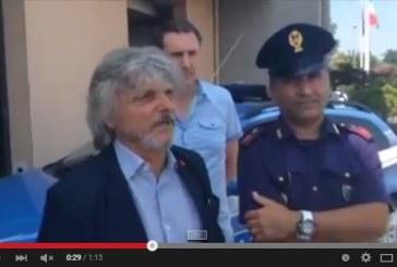 VIDEO Ferrero ringrazia la Polizia Stradale dopo il ritrovamento della Porsche