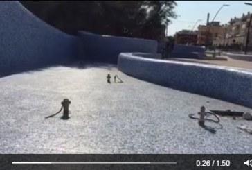 VIDEO Prima dell'inaugurazione già rubati i faretti della fontana al Lido