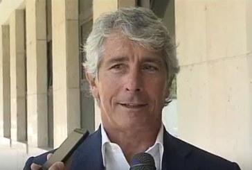 VIDEO Stadio, il presidente della Lega Andrea Abodi a Latina