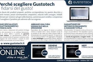 Gustotech, per i clienti di Latina vendita online e ritiro gratuito degli elettrodomestici