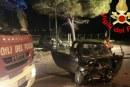 Grave incidente tra due auto sull'Appia, ferita una ragazza