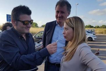 FOTO Calandrini e Meloni in Q4, tra il pubblico spunta anche Maietta