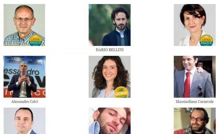 FOTO Ecco tutti i nuovi consiglieri comunali di Latina