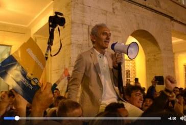 VIDEO Il discorso di Damiano Coletta dopo la vittoria a Latina
