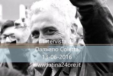 VIDEO Elezioni a Latina, intervista a Damiano Coletta