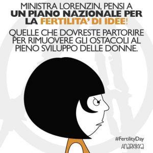 Fertility day, l'attacco del Centro Donna Lilith di Latina