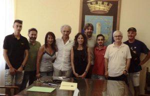 Dai borghi a Latina in bicicletta, incontro con il sindaco Coletta