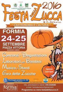 Formia, torna la Festa della zucca con degustazioni, concorsi e laboratori per i bambini