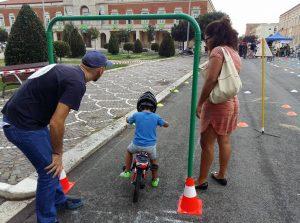 FOTO In piazza del Popolo gli eventi per la settimana della mobilità sostenibile