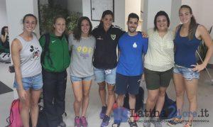 Pontinia, i campioni della nazionale italiana di nuoto si allenano ad Aquaria