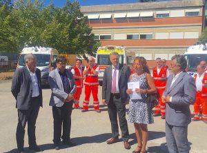Consegnate 3 nuove ambulanze del 118 a Latina