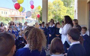 Cisterna inaugura l'anno scolastico con il sindaco Della Penna