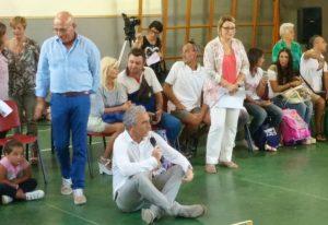Latina, Coletta apre l'anno scolastico in via Tasso. L'assessore Di Muro in piazza Dante