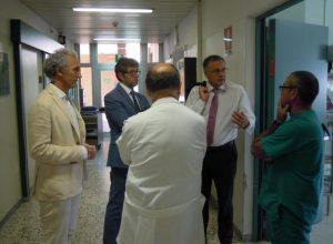 Coletta torna in ospedale (ma non da medico) per valutare i problemi del Goretti