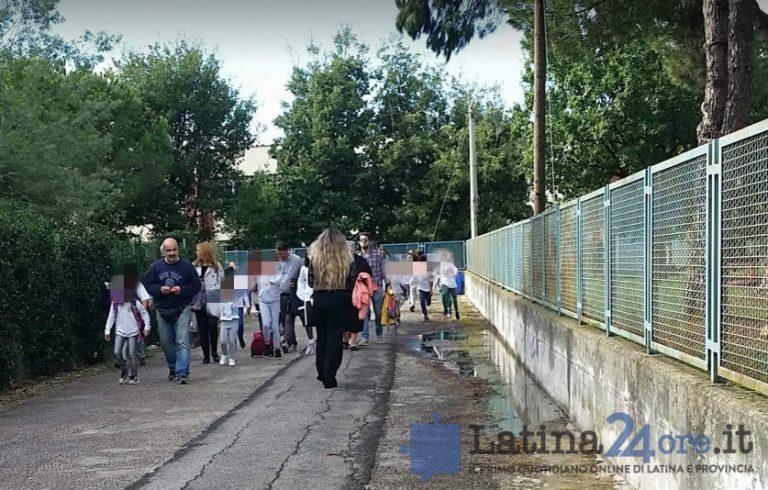 Latina, bambini al gelo nelle scuole Rodari, piazza Dante e Tor Tre Ponti