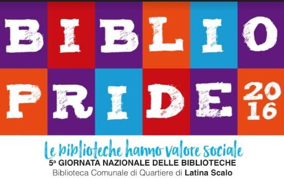 Latina partecipa al Bibliopride, iniziative a Latina Scalo