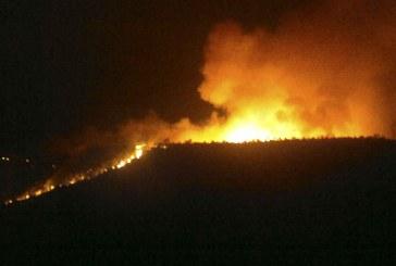 Vasto incendio a Norma, intervengono i canadair