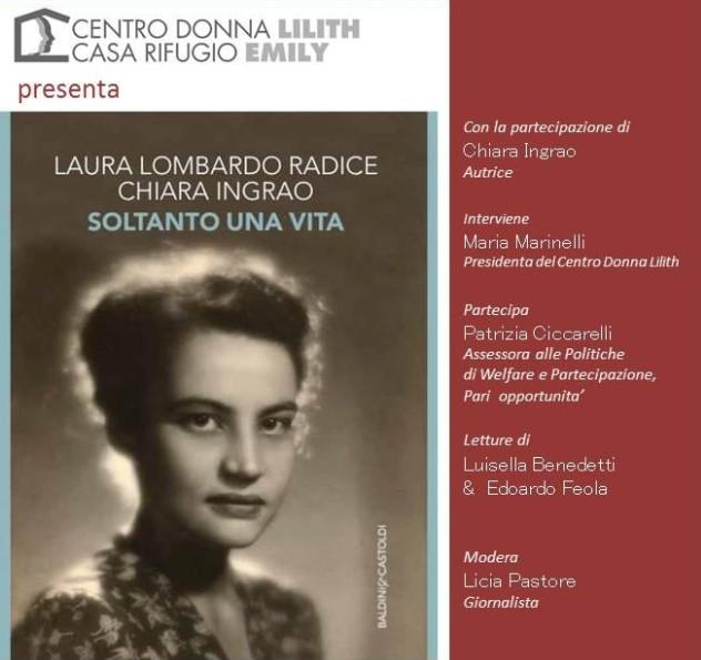 Latina, Chiara Ingrao presenta il suo libro alla Feltrinelli