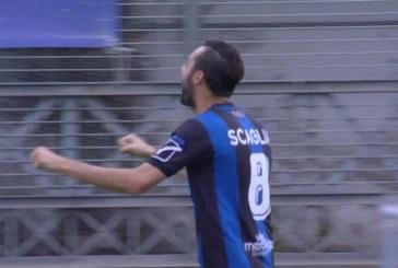 Un Latina eroico rimonta l'Ascoli da 2-0 a 2-2: nerazzurri in nove uomini