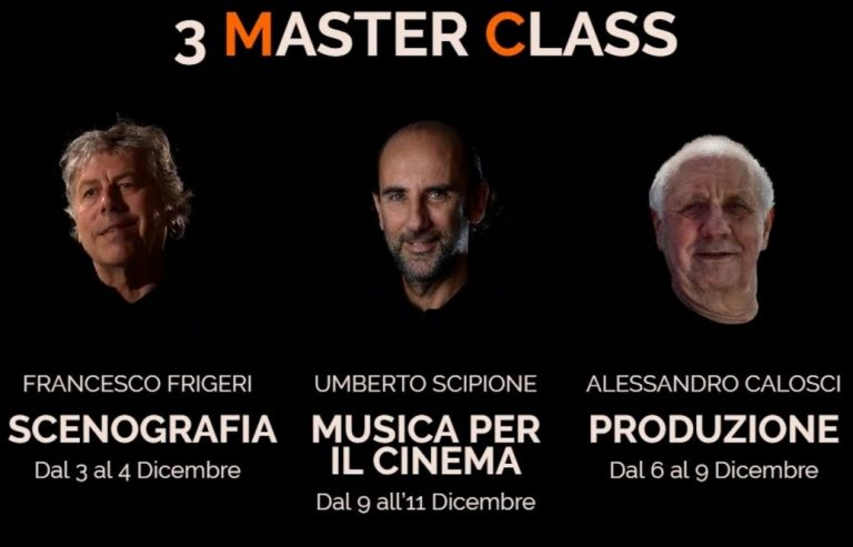 Latina Film Commission organizza 3 Master Class di Cinema