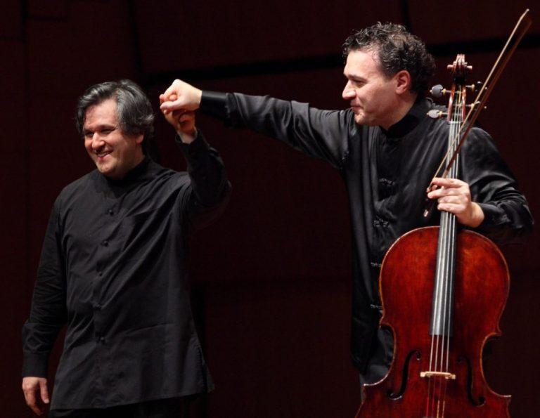 Antonio Pappano e Luigi Piovano, un duo d'eccezione per la riapertura del teatro D'Annunzio di Latina