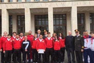 Fiamme Rosse, presentati i primi 11 atleti del gruppo sportivo dei Vigili del fuoco