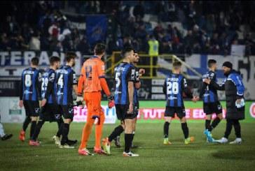 Latina Calcio, è notte fonda: al Francioni passa il Novara 0-1