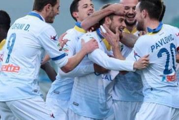 """Il derby è del Frosinone: al Francioni ancora Dionisi, finisce 0-1. Vivarini: """"Meritavamo di più"""""""
