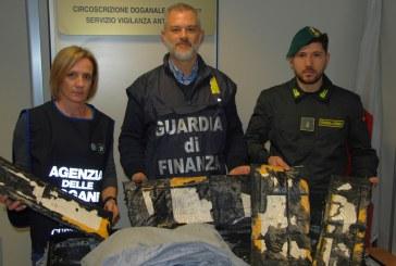 Fiumicino, sequestrati 32 kg di eroina: 12 arresti. Droga nascosta nello shampoo