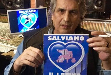 FOTO Anche Toto Cutugno con i tifosi del Latina Calcio: Salviamoci