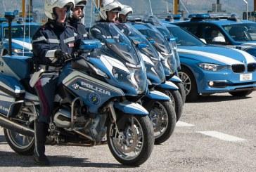 Latina, da oggi polizia in strada sulle potenti moto BMW